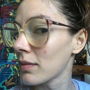 Diane Von Furstenberg Accessories - Vintage Diane Vin Furstenberg Granny Glasses